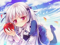 Julie Sigtuna from the anime series Absolute Duo 2014 Anime, 5 Anime, Anime Girls, Absolute Duo, Fanart, Kawaii Girl, Cosplay, Yandere, Anime Characters