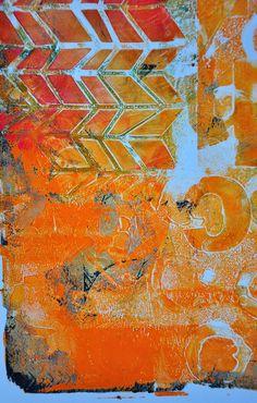 Gelli 02 by Dina Wakley