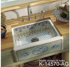 Decorative Kitchen Sinks On Pinterest Kitchen Sinks