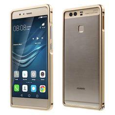 Köp Aluminiumbumper Huawei P9 guld online: http://www.phonelife.se/aluminiumbumper-huawei-p9-guld