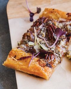 Memory Tart with Roquefort & Figs