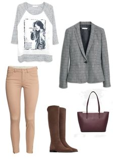 Bag Mango Shoes Zara Trousers H&M Blouse, jacket Mango  http://personalstylist.pl/
