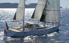 Sailing-yacht de croisière / cockpit central / 3 cabines / ketch AMEL 64 AMEL