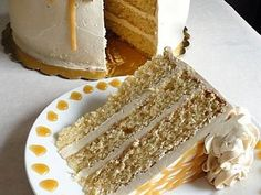 Old-Fashioned Butterscotch Cake from Cooking Channel