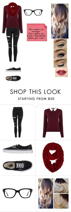 """""""the young adult #1"""" by takaiya-is-a-penguin ❤ liked on Polyvore featuring Topshop, Oasis, Vans, Converse, Fiebiger, women's clothing, women's fashion, women, female and woman"""