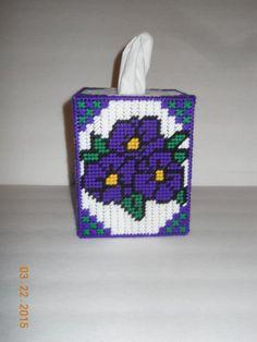 Plastic Canvas Coasters, Plastic Canvas Tissue Boxes, Plastic Canvas Crafts, Plastic Canvas Patterns, Tissue Box Crafts, Yarn Crafts, Yarn Storage, Tissue Box Covers, Tissue Holders