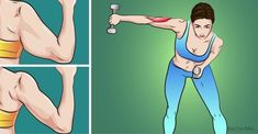 Top 5 exercises to help tighten loose arm skin in your 40s