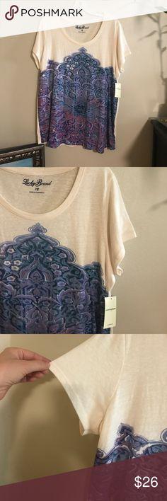 LUCKY BRAND TEE NWT Bundle and save! Lucky Brand Tops Tees - Short Sleeve