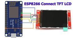 esp8266 tft lcd Display