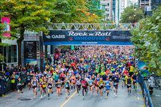 Vancouver Rock 'n' Roll Half Marathon & 10K Race 2015 Vancouver, BC Canada