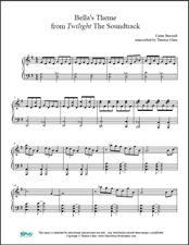 Bella lullaby sheet music scribd
