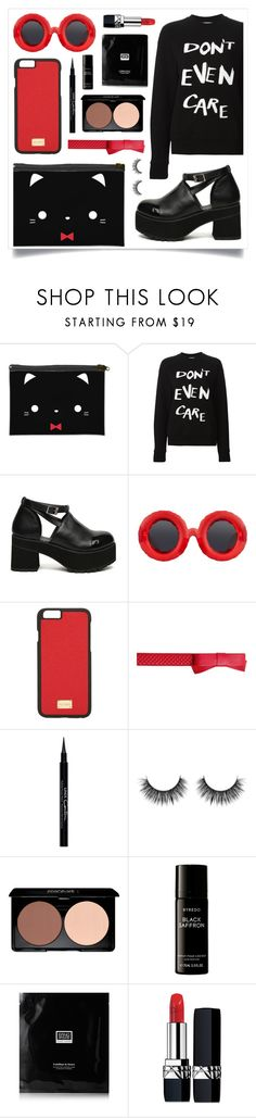 """Try To Converse"" by racanoki ❤ liked on Polyvore featuring Être Cécile, Jeremy Scott, Dolce&Gabbana, Boutique Moschino, Givenchy, Byredo, Erno Laszlo, Christian Dior and RaCaNoKi"