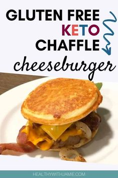 Here is a quick recipe and video tutorial on how to make a basic Keto Chaffle and a sweet Keto Chaffle treat. This gluten free keto chaffle makes a great base for pizza chili hot dog hamburger and more even keto desserts! Gluten Free Diet, Gluten Free Recipes, Keto Recipes, Cooking Recipes, Healthy Recipes, Dinner Recipes, Dog Recipes, Healthy Snacks, Hot Dog Chili