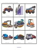 Construction workers theme printables
