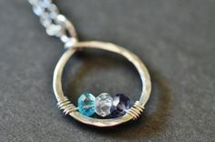 custom+mothers+family+birthstone+necklace+CIRCLE+OF+by+muyinmolly,+$45.00
