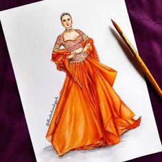 Dress Design Drawing, Dress Design Sketches, Fashion Design Sketches, Fashion Illustration Poses, Dress Illustration, Fashion Model Sketch, Fashion Drawing Dresses, Sleeves Designs For Dresses, Fashion Figures
