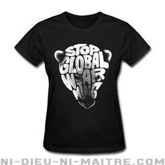 T-shirt femme (15.69$ ou 12.66€) Environnementalisme - Luttes vertes - Pollution - Anti-nucléaire - Pétrole - Changements climatiques - Planète - Anarchie verte - OGM - Écologie - Eco-terrorisme - Énergie verte - Anticiv - Anarcho-primitivisme - Développement durable - Décroissance - Ni-Dieu-Ni-Maitre.com