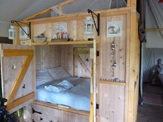 cozy bed.  And since it has two doors, I probably would actually invest in this bed for when I get married.  It's adorable!!!