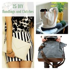 25 DIY Handbags and Clutches