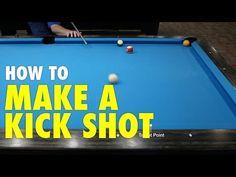How to Play Pool: Kick Shots Billards Room, Shuffle Board, Play Pool, Pool Tables, Pool Cues, Darts, Game Room, Kicks, Room Ideas