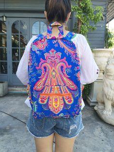 Hippie Backpack, Travel Backpack, Backpack Bags, Painted Bags, Hippie Bags, Cute Sandals, Canvas Fabric, Vera Bradley Backpack, Hobo Bag