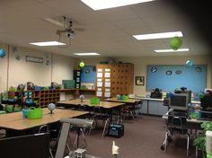 Classroom is almost ready for open house.