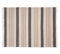 Stinson Synthetic Indoor/Outdoor Rug, Gray Multi, 2 x 3'  Potterybarn