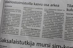 Turun sanomat 23.7.2013