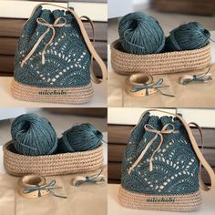 Finding Colorful Designs of Crochet for Home Décor Use Crochet Backpack, Crochet Tote, Crochet Handbags, Crochet Purses, Love Crochet, Diy Crochet, Crochet Stitches, Scarf Crochet, Crochet Pattern