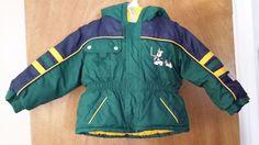 Boys Navy Green Winter Snow Jacket Outbrook Kids 12-18 mos REDUCED #OutbrookKids #Jacket #DressyEveryday