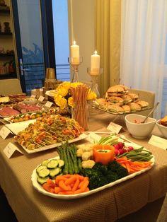 House Warming party Denver! Finger food Ideas.