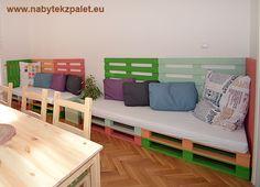 Netradiční stylový nábytek - nábytek z palet.