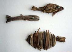 Drift wood fishies!