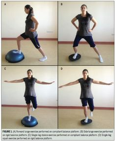 Unstable surfaces are commonly used during lower extremity rehabilitation exercises. These unstable surfaces generally increase muscle activation on a subconscious level, thus training the sensorimotor system. Many types of devices provide unstable surfaces for training, including balance boards, foam Stability Trainer pads, and air-filled Stability Disks and cushions. These devices vary in the interactions between …