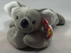 c62f4c77b63 Mel the Koala Plush TY Beanie Baby Retired Stuffed Animal Vintage Toy