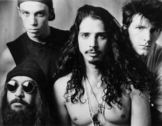 ❤ Soundgarden ❤ Totally listen to the song 'Seasons' off the Singles soundtrack if you havent yet done so. ALSO, if you dig Soundgarden or the grunge sound be sure to listen to Temple of the Dog. It was a band formed in 1990 by Chris Cornell as a tribute to his late, close friend Andy Wood of Mother Love Bone (which is another rad band!) Jeff Ament, Mike McCready, Eddie Vedder, Stone Gossard, Matt Cameron (aka PEARL JAM!) & Chris Cornell were Temple of the Dog. Extraordinary, to say the leas...