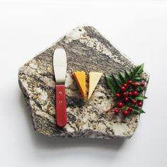 Wine and cheese, anyone? This granite cheese board is both functional and pretty.