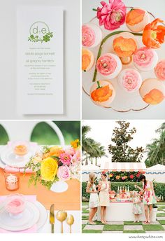 Inspiration: Bridal Shower Brights