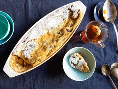 DRIED APRICOT AND FIG CLAFOUTIS WITH RUM