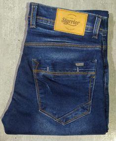 Raw Jeans, Raw Denim, Blue Denim, Denim Jeans, Monday Blues, Denim Branding, Cotton Pants, Club Dresses, Fasion