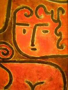 Paul Klee 'Hot-Blooded Girl', 1938