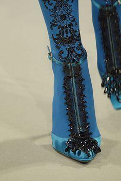 Hannah & Fay | couture details | Christian Lacroix Haute Couture F/W 2006
