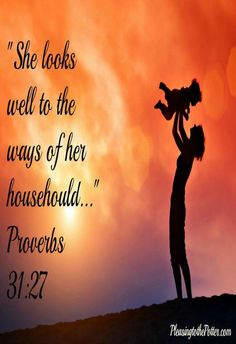 How I was reminded of the importance of Super Moms(Prov 31 woman) after a few hours of babysitting my nephew.
