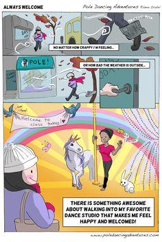 Pole Dancing Adventures (PDA) - The Original Webcomic Series