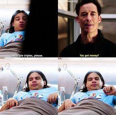 Harry and Cisco!!