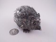 BUCCELLATI 800 SILVER HEDGEHOG FIGURINE NOT STERLING ANIMAL SIGNED ADORABLE | eBay