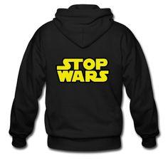 Stop Wars (Star Wars)  Zip Hoodie   Spreadshirt   ID: 8995067