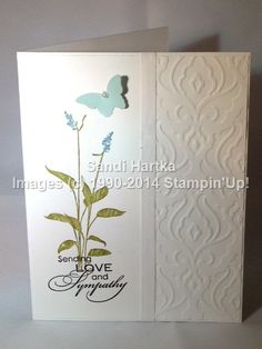 Stampin'Up! hand-stamped greeting cards, World of Dreams