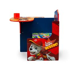Delta Children Chair Desk With Storage Bin Nick Jr Paw Patrol Check Out This Great Product It Is An Affiliate Nick Jr Paw Patrol Desk Storage Kids Chairs