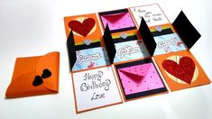 welcome to Handmade Cards Ideas channel. In this video, i am going to show you guys how to make special handmade gift for birthday. You can give this handmad. Handmade Gifts For Boyfriend, Handmade Gifts For Friends, Handmade Birthday Gifts, Simple Birthday Cards, Birthday Cards For Boyfriend, Birthday Greeting Cards, Diy Birthday Scrapbook, Birthday Diy, Diy Scrapbook